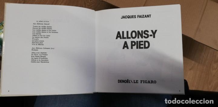 Libros de segunda mano: Jacques Faizant, Allons-y à pied. 1974 - Foto 2 - 262782155