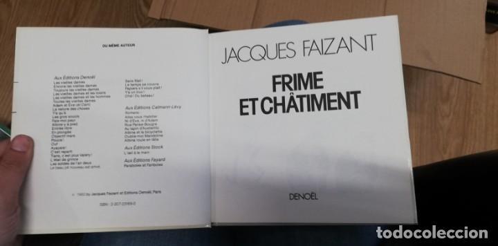 Libros de segunda mano: Frime et châtiment. Faizant,Jacques. 1985 - Foto 2 - 262783375