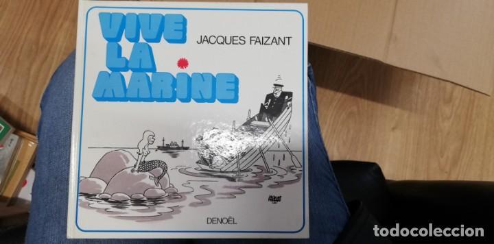 VIVE LA MARINE. FAIZANT JACQUES. 1974 (Libros de Segunda Mano - Otros Idiomas)