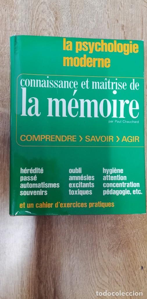 CONNAISSANCE ET MAÎTRISE DE LA MÉMOIRE. CHAUCHARD PAUL. 1968 (Libros de Segunda Mano - Otros Idiomas)