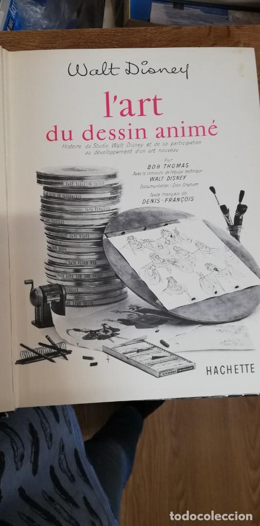 Libros de segunda mano: L'art du dessin animé - Bob Thomas. Walt Disney. Hachette - Foto 3 - 262798085