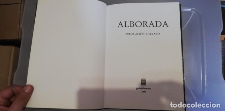 """Libros de segunda mano: Alborada: Publicación literaria. (Serie """"Resgate""""). ED. SOTELO BLANCO. VV.AA. 1990 - Foto 3 - 262805695"""