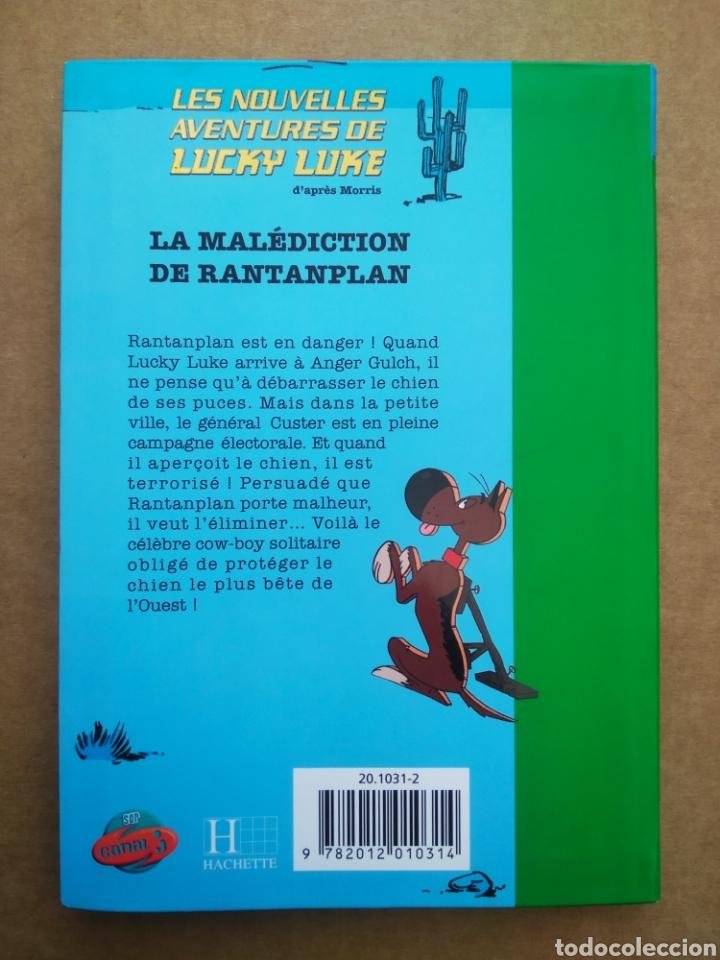 Libros de segunda mano: Les Nouvelles Aventures de Lucky Luke: La Malédiction de Rantanplan (Hachette/Lucky Comics, 2005). - Foto 2 - 262807260