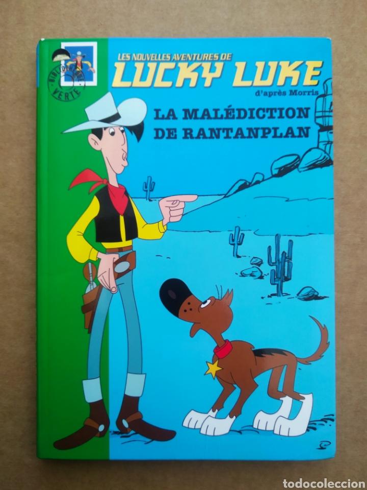 LES NOUVELLES AVENTURES DE LUCKY LUKE: LA MALÉDICTION DE RANTANPLAN (HACHETTE/LUCKY COMICS, 2005). (Libros de Segunda Mano - Otros Idiomas)