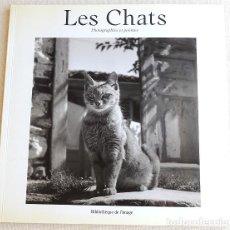Libros de segunda mano: LES CHATS - LOS GATOS. Lote 266238363
