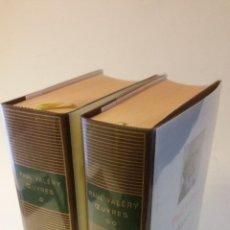 Libros de segunda mano: 1975 - PAUL VELÉRY - OEUVRES . 2 TOMOS - BIBLIOTHEQUE DE LA PLEIADE. Lote 268437499