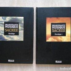 Libros de segunda mano: ÉBLOUISSANTE MUSIQUE SACRÉE. FLORILÈGE. ÉDITIONS ATLAS. 2 LIBROS EN FRANCÉS.. Lote 268821889