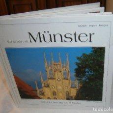Libros de segunda mano: CATALOGO DE EDIFICIOS Y LUGARES DE LA CIUDAD ALEMANA DE MUNSTER (SO SCHON IST MUNSTER). Lote 268884139