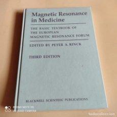 Libros de segunda mano: MAGNETIC RESONANCE IN MEDICINE. EDITED BY PETER A.RINCK. 1991. 241 PAGS.. Lote 268913229