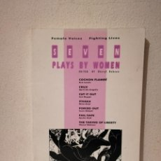 Libros de segunda mano: LIBRO - SEVEN PLAYS BY WOMEN - OTROS IDIOMAS - EN INGLES - AÑO 1999 - CHERYL ROBSON. Lote 269015914