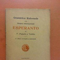 Libros de segunda mano: ESPERANTO. F. PUJULÀ Y VALLÉS. BIBLIOTECA JOVENTUT. Lote 269062548