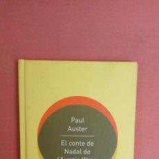 Libros de segunda mano: EL CONTE DE NADAL DE L'AUGGIE WREN. PAUL AUSTER. DIPIUTACIÓ BARCELONA.. Lote 269070133