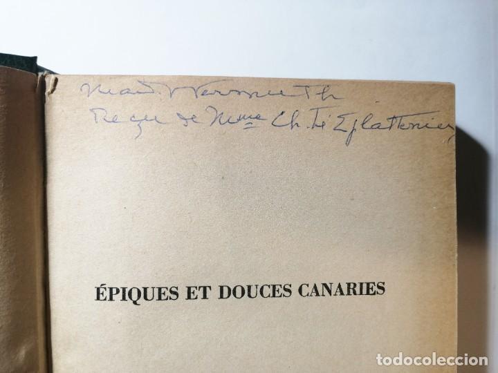 Libros de segunda mano: ATTILIO GAUDIO. ÉPIQUES ET DOUCES CANARIES. 1958. - Foto 6 - 269071123