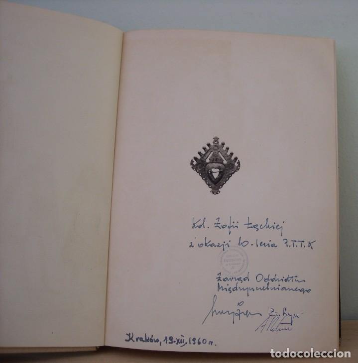 Libros de segunda mano: Pod Wierchami Tart. Kazimierz Saysse-Tobiczyk. Nasza Ksiegarnia,1960. Con dedicatoria - Foto 4 - 269083833