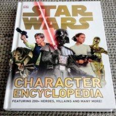 Libros de segunda mano: STAR WARS CHARACTER ENCYCLOPEDIA. ENCICLOPEDIA DE PERSONAJES. EN INGLÉS.. Lote 269157873