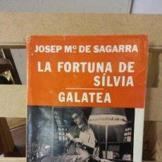 Libros de segunda mano: LA FORTUNA DE SÍLVIA. JOSEP Mª SAGARRA. EDITORIAL SELECTA.. Lote 269278253
