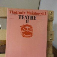 Libros de segunda mano: TEATRE II. VLADÍMIR MAIAKOVSKI. EDICIONS 62.. Lote 269279363