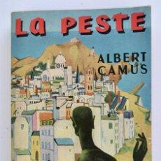 Libros de segunda mano: ALBERT CAMUS. LA PESTE. TEXTO INTEGRAL. EDITORIAL GALLIMARD, 1947. IDIOMA, FRANCÉS. EN BUEN ESTADO. Lote 269302243