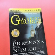 Libros de segunda mano: IN PRESENZA DEL NEMICO. GEORGE, ELIZABETH. SUPERPOCKET 1996. Lote 269349213