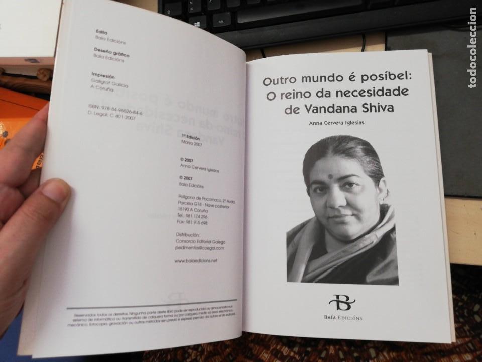 Libros de segunda mano: Outro mundo é posíbel: o reino da necesidade de Vandana Shiva - Anna Cervera i Iglesias. 1ª Ed. 2007 - Foto 2 - 269438448