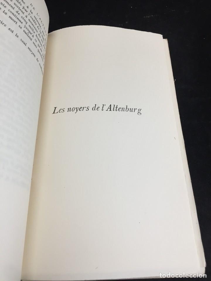 Libros de segunda mano: LES NOYERS DE LALTENBURG. André MALRAUX. Gallimard, nrf, 1948, edición original en francés. - Foto 5 - 269455958