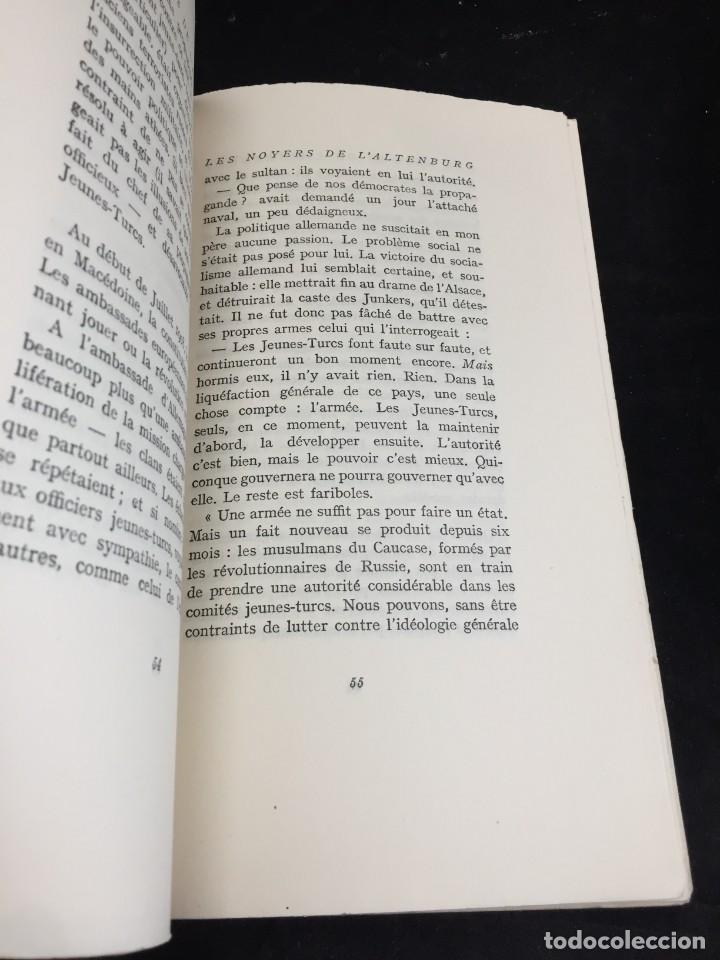 Libros de segunda mano: LES NOYERS DE LALTENBURG. André MALRAUX. Gallimard, nrf, 1948, edición original en francés. - Foto 6 - 269455958