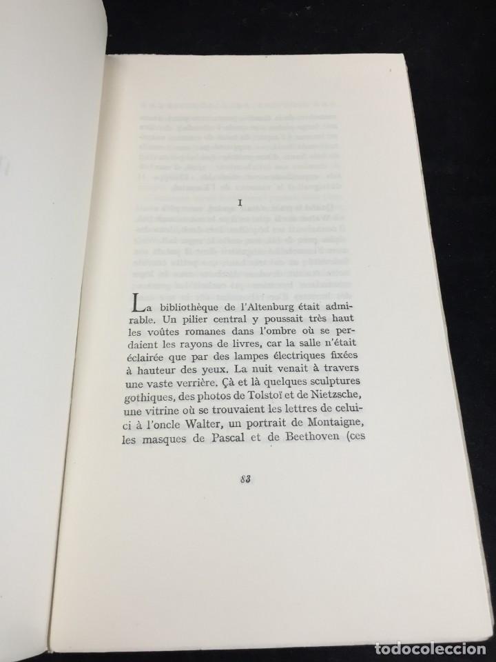 Libros de segunda mano: LES NOYERS DE LALTENBURG. André MALRAUX. Gallimard, nrf, 1948, edición original en francés. - Foto 7 - 269455958
