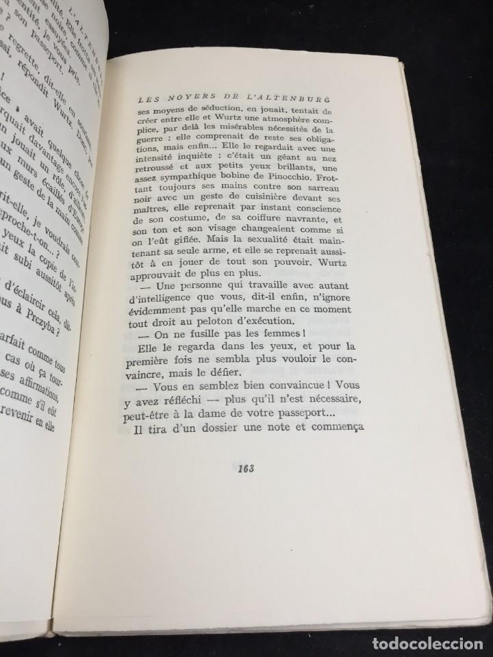 Libros de segunda mano: LES NOYERS DE LALTENBURG. André MALRAUX. Gallimard, nrf, 1948, edición original en francés. - Foto 10 - 269455958