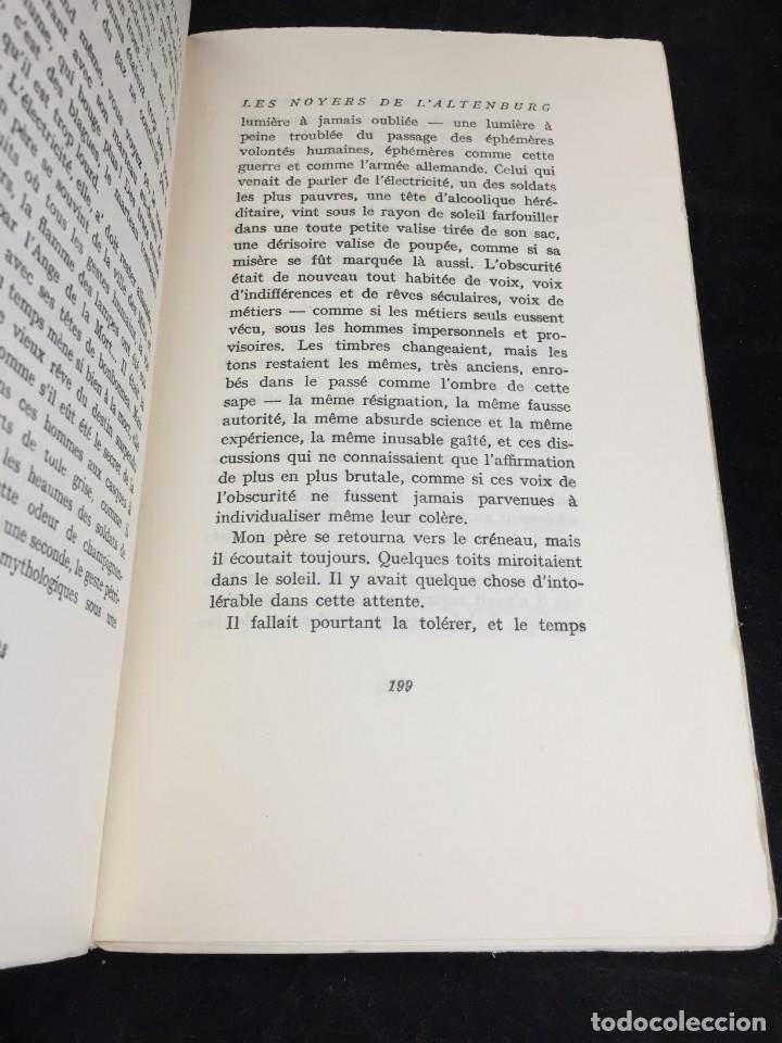 Libros de segunda mano: LES NOYERS DE LALTENBURG. André MALRAUX. Gallimard, nrf, 1948, edición original en francés. - Foto 11 - 269455958