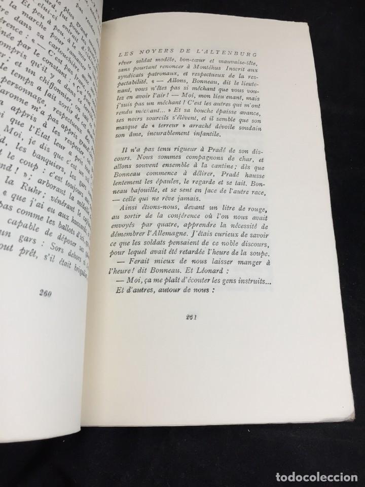 Libros de segunda mano: LES NOYERS DE LALTENBURG. André MALRAUX. Gallimard, nrf, 1948, edición original en francés. - Foto 12 - 269455958