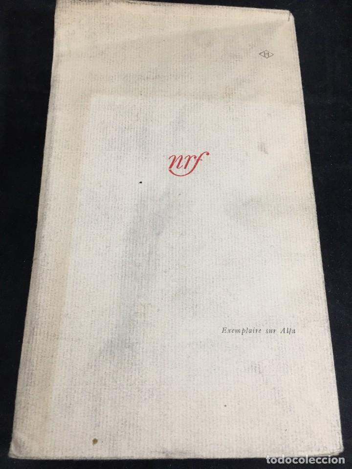 Libros de segunda mano: LES NOYERS DE LALTENBURG. André MALRAUX. Gallimard, nrf, 1948, edición original en francés. - Foto 13 - 269455958