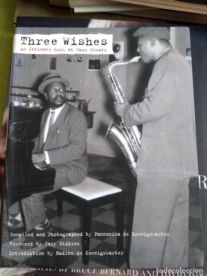 LIBRO THREE WISHES AN INTIMATE LOOK AT JAZZ GREATS (Libros de Segunda Mano - Otros Idiomas)