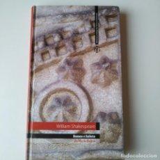 Libros de segunda mano: ROMEO E XULIETA WILLIAM SHAKESPEARE LA VOZ DE GALICIA AÑO 2005 - LIBRO EN GALLEGO. Lote 269609143