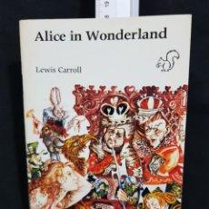 Libros de segunda mano: ALICE IN WONDERLAND. LEWIS CARROLL. LONGMAN. 16.ª EDICIÓN 1989. Lote 270214493