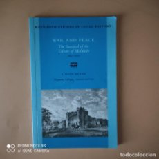 Libros de segunda mano: WAR AND PEACE. MAYNOOTH STUDIES IN LOCAL HISTORY. JOSEPH BYRNE. 1997. PAGS. 76.. Lote 270220468