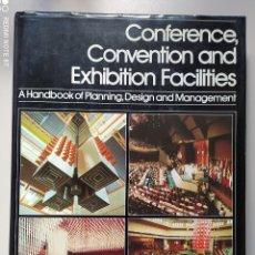 Libros de segunda mano: CONFERENCE, CONVENTION AND EXHIBITION FACILITIES. Lote 270260978