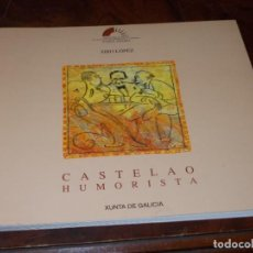 Livros em segunda mão: CASTELAO HUMORISTA, SIRO LÓPEZ. 1.996 CENTRO INVESTIGACIÓNS LINGÜISTICAS E LITERARIAS. EN GALLEGO. Lote 273753918