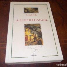 Livros em segunda mão: A LUX DO CANDIL, ANXEL FOLE. GALAXIA LITERATURA 14ª ED. OUTUBRO 1.996, EN GALLEGO. Lote 274638648