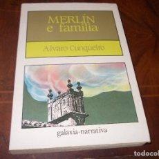Livros em segunda mão: MERLÍN E FAMILIA, ALVARO CUNQUEIRO. GALAXIA NARRATIVA 15ª ED. 1.996, EN GALLEGO. Lote 274639358