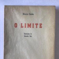 Libros de segunda mano: O LIMITE. - SANDOZ, MAURICE.. Lote 123244964