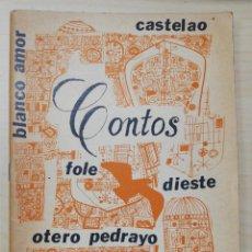 Libros de segunda mano: CONTOS, GALAXIA 1965. CASTELAO, BLANCO AMOR, FOLE, DIESTE, OTERO PEDRAYO, CUNQUEIRO. XOHAN LEDO. Lote 277186803