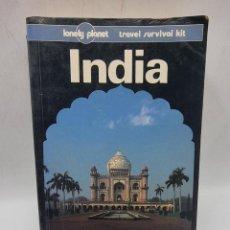 Libros de segunda mano: INDIA. TRAVEL SURVIVAL KIT. ED. LONELY PLANET. PAGS: 931.. Lote 278164378