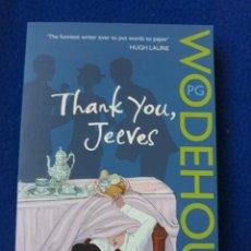 Libros de segunda mano: THANK YOU, JEEVES - P. G. WODEHOUSE. Lote 278455788