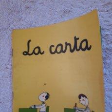 Livros em segunda mão: LA CARTA.... - COL.LECCIÓ A POC A POC - ED. LA GALERA. Lote 278546638