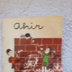 Livros em segunda mão: AHIR.... - COL.LECCIÓ A POC A POC - ED. LA GALERA. Lote 278546738