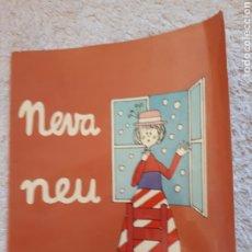 Livros em segunda mão: NEVA NEU.... - COL.LECCIÓ A POC A POC - ED. LA GALERA. Lote 278546938