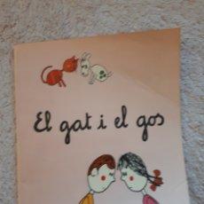 Livros em segunda mão: EL GAT I EL GOS.... - COL.LECCIÓ A POC A POC - ED. LA GALERA. Lote 278546978