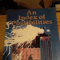 Libros de segunda mano: AN INDEX OF POSSIBILITIES.ENERGY AND POWER.PUBLISHED BY CLANOSE PUBLISHERS.1974.291 PAG.. Lote 278925778