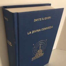 Libros de segunda mano: DANTE ALIGHIERI. LA DIVINA COMMEDIA. SOCIETÁ DANTESCA ITALIANA. GIUSEPPE VANDELLI. LA DIVINA COMEDIA. Lote 279356658