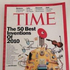 Libros de segunda mano: REVISTA TIME (EN IDIOMA INGLES). THE 50 BEST INVENTIONS OF 2010. Lote 279385258